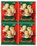 【雑誌掲載商品】アメリカ 1950年 クリスマスシール