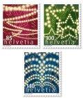 スイス切手 2012年 クリスマス 3種