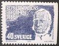 スウェーデン 1966年二院制国会100年 切手