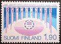 フィンランド 1989年IPU百年祭 切手
