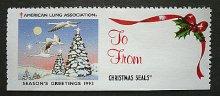 他の写真1: アメリカ1993年 クリスマスシール