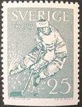 スウェーデン 1963年世界アイスホッケー選手権大会 切手