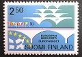 フィンランド切手 1989年ヨーロッパ議会 切手