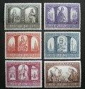 バチカン1966年 キリストポーランド 6種