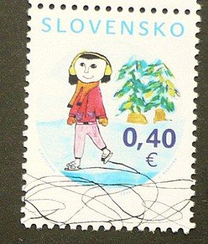 画像1: スロバキア 2009年クリスマス 冬のモチーフ