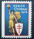 アメリカ1924年クリスマスシール