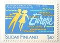 1993年 フィンランド 商工会議所 切手